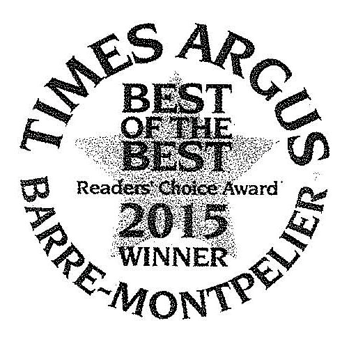 Times Argus Best of the Best Award 2015