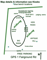 Basic Map of Fairgrounds