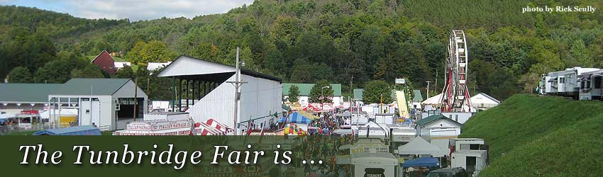 The Tunbridge Fair is ...